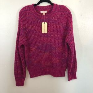 Band of Gypsies Sweaters - NWT Band of Gypsies pink knit sweater